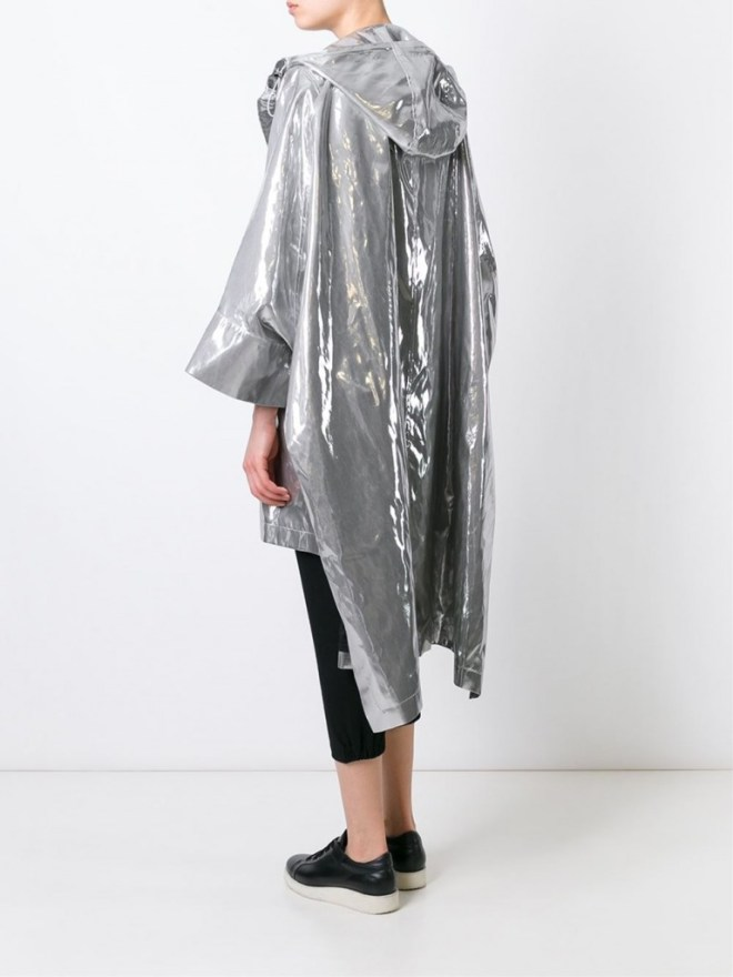 Wanda Nylon Cape Coat