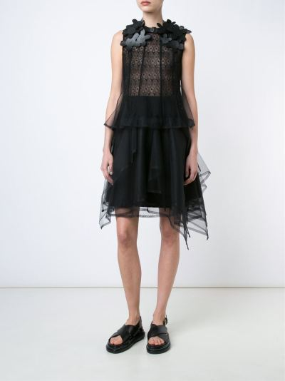 Currently Coveting: Comme Des Garçons Noir Kei Ninomiya Flower Collar