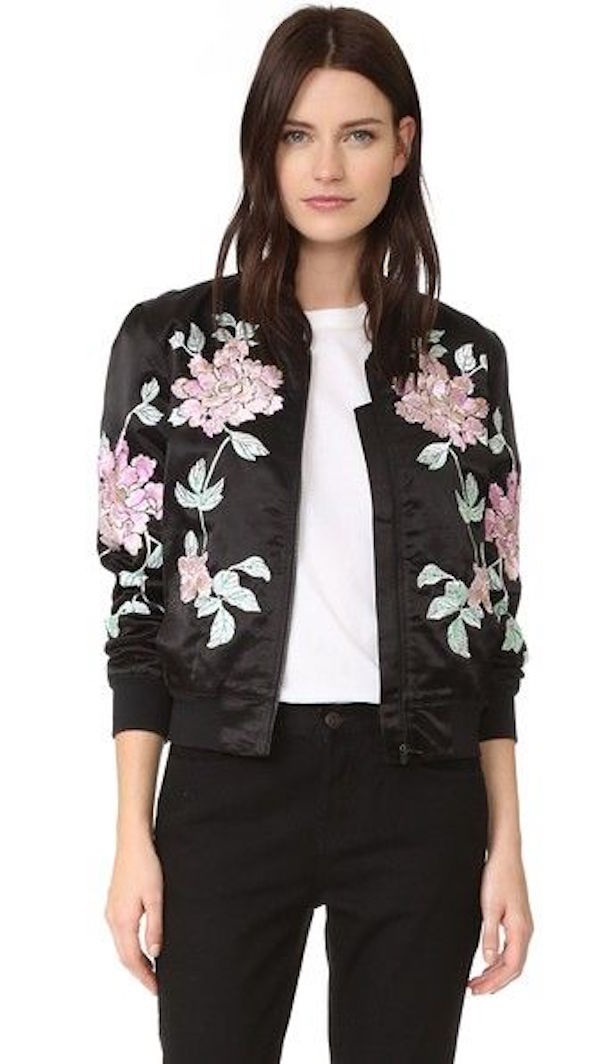 TREND TO TRY: THE BOMBER JACKET