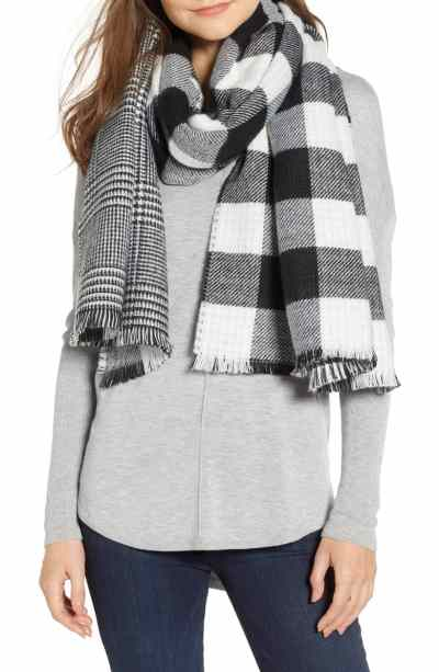 Currently Coveting: Double-Sided Blanket Scarves