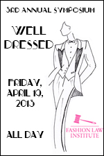 Event image for 3rd Annual Symposium with the image of woman in a tuxedo; the event took place on February, April 19, 2013