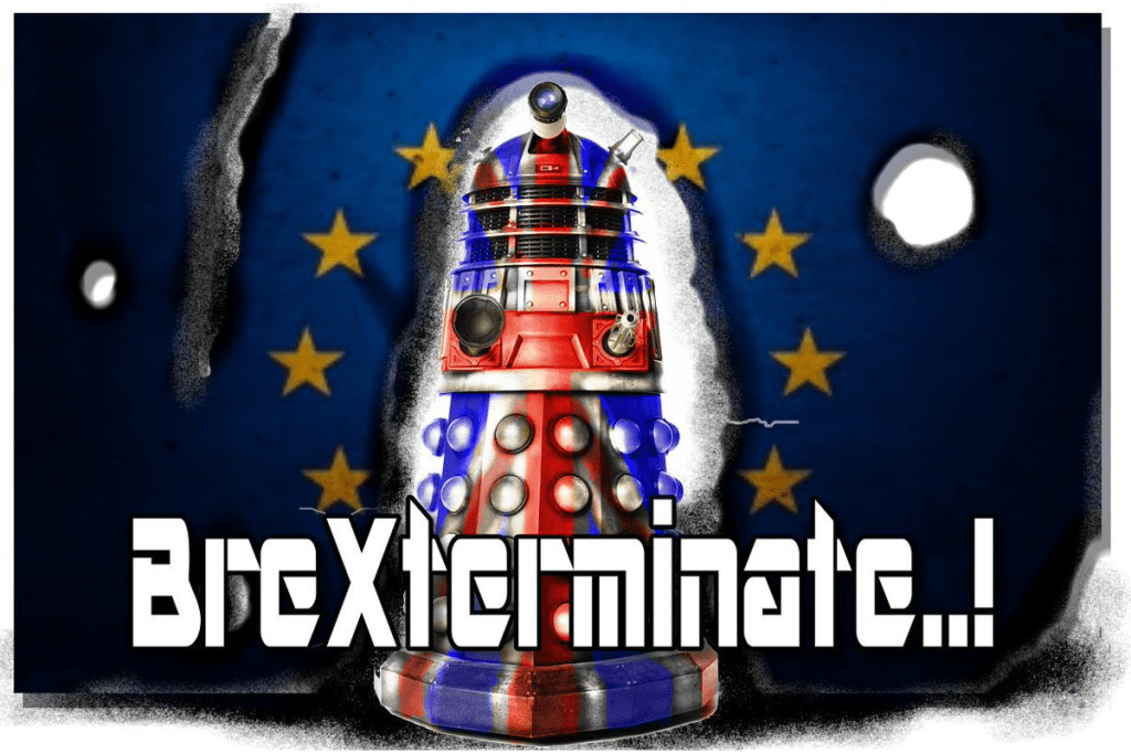 "A Dalek from Doctor Who - ""Brexterminate!"""