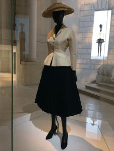 Dior Bar design at the Musee des Arts Decoratifs in Paris