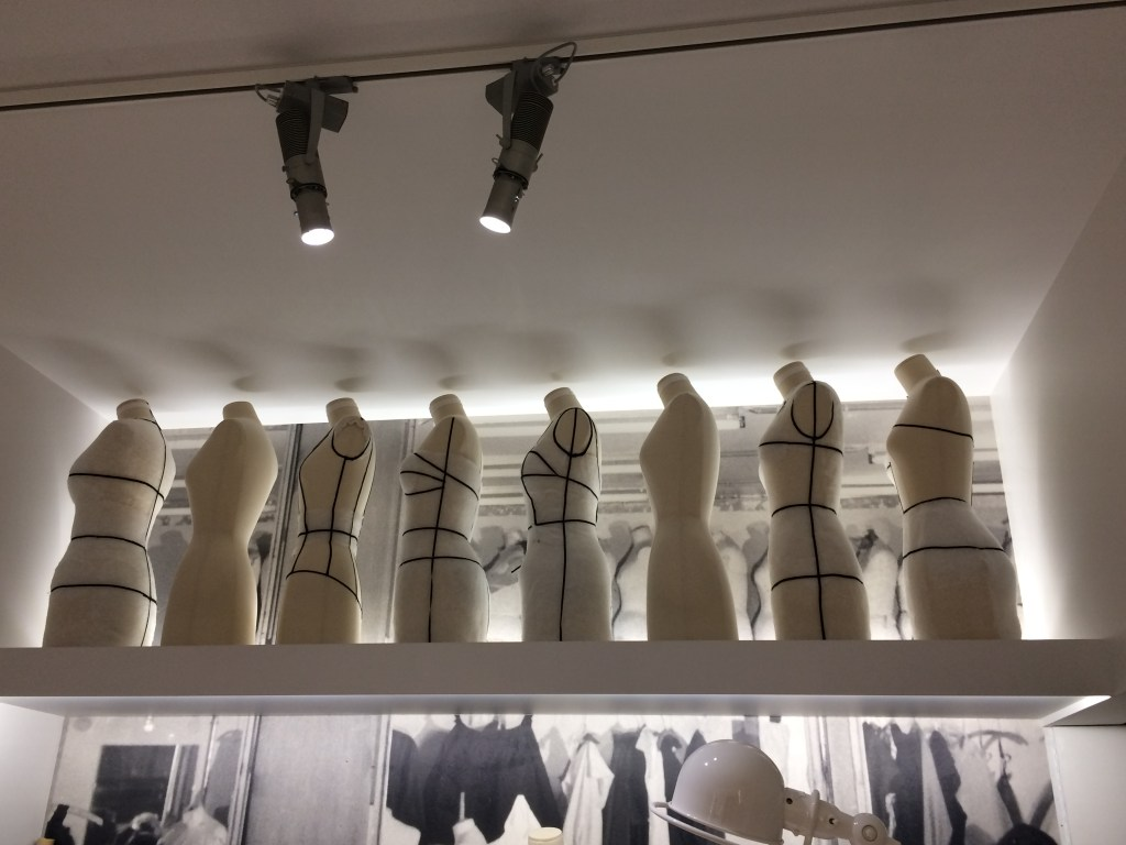 Dress forms in the atelier