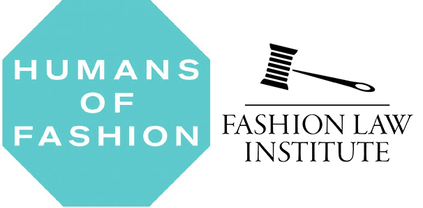 Humans of Fashion and Fashion Law Institute logos