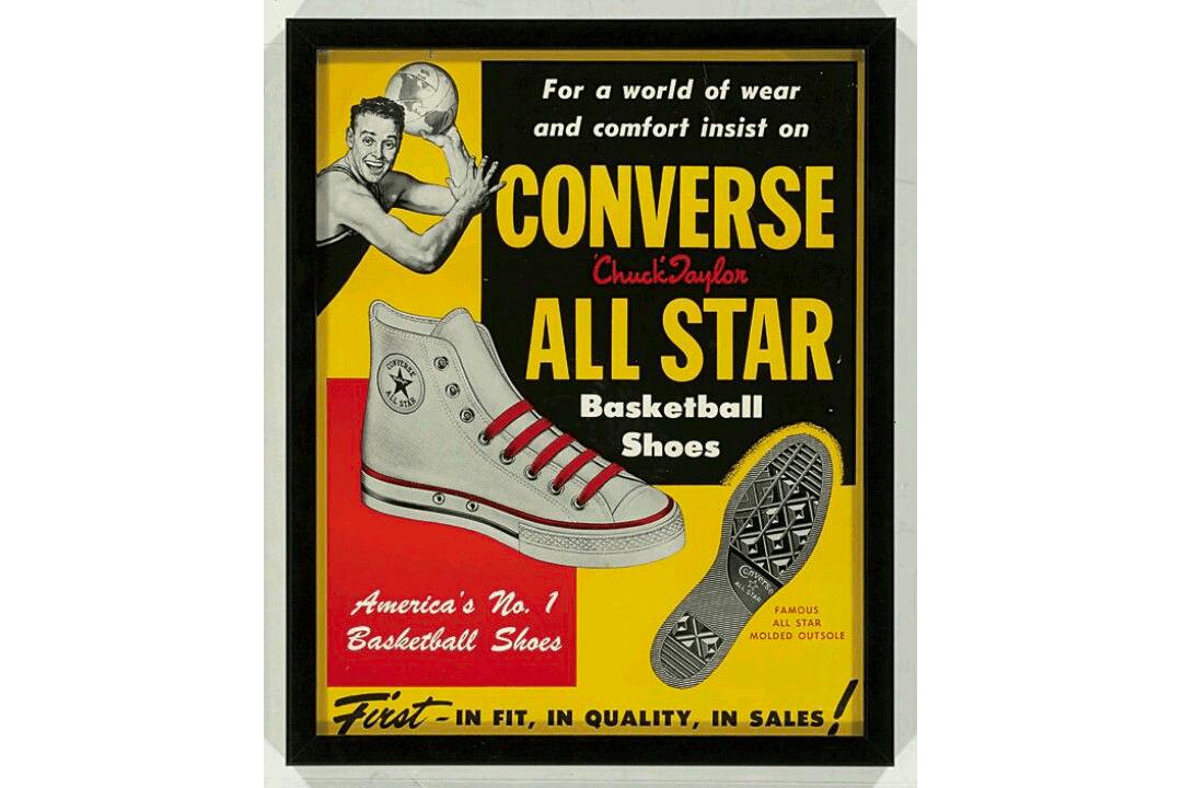 Converse Chuck Taylor sneaker ad