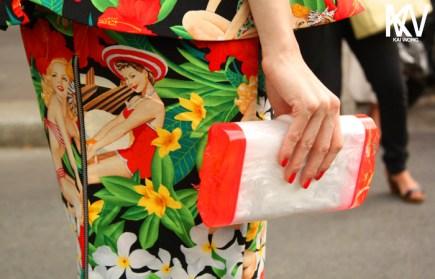 Tropic dress christian dior haute couture