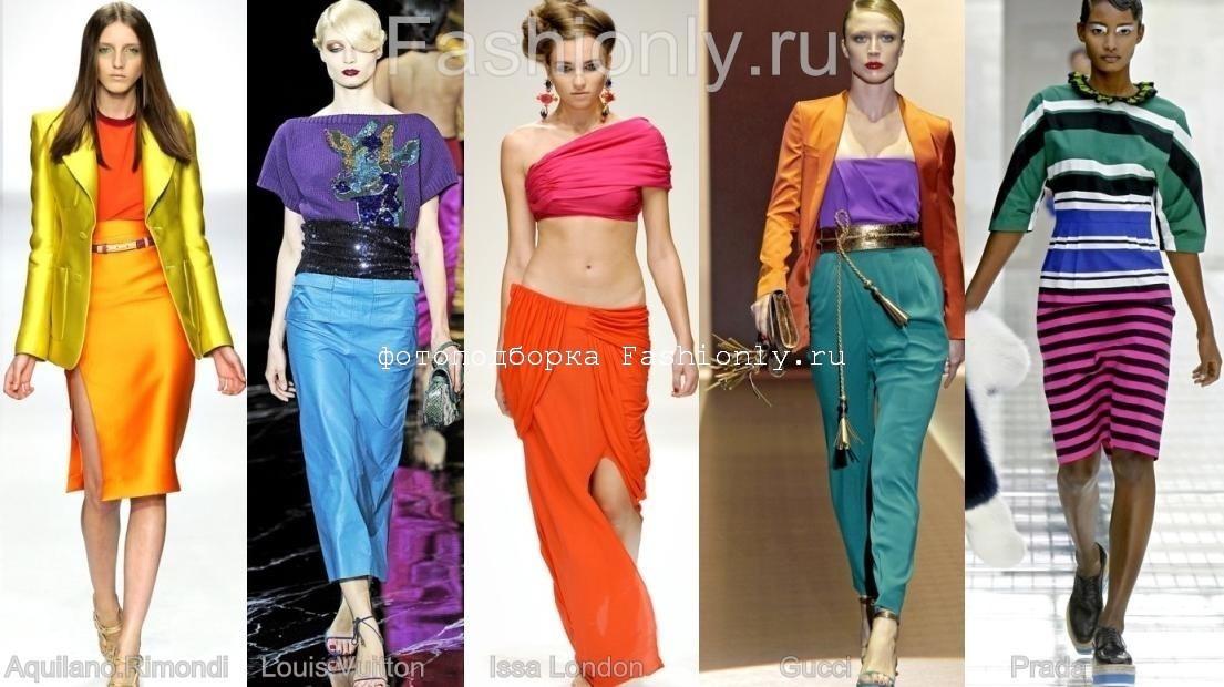 Что модно весной 2011