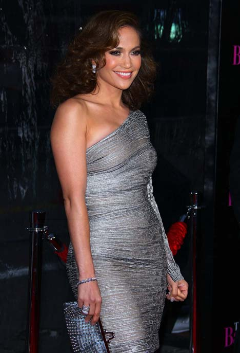 Jennifer Lopez Glamorous At Quot The Back Up Plan Quot Premiere In