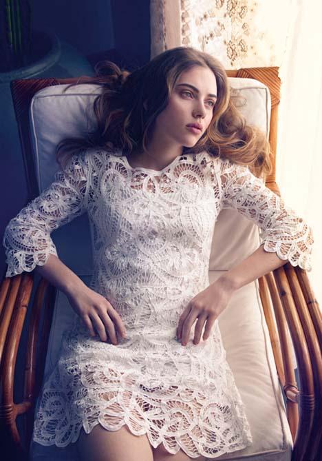 Scarlett Johansson For Mango Summer 2010 Ad Campaign