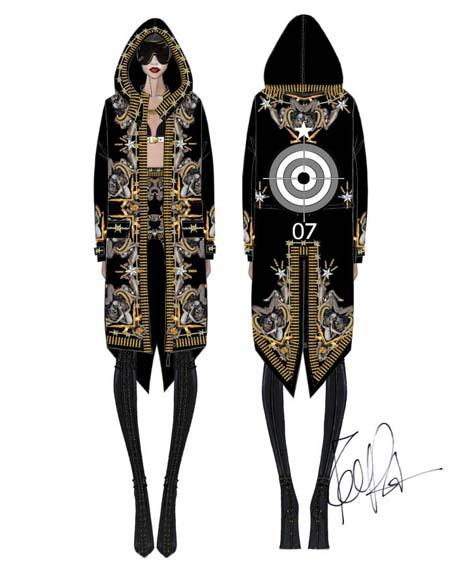 Givenchy for Rihanna1