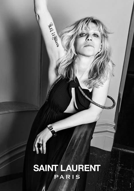 Courtney Love Saint Laurent Music Project