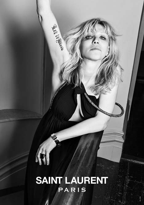 Courtney Love Saint Laurent Music Project