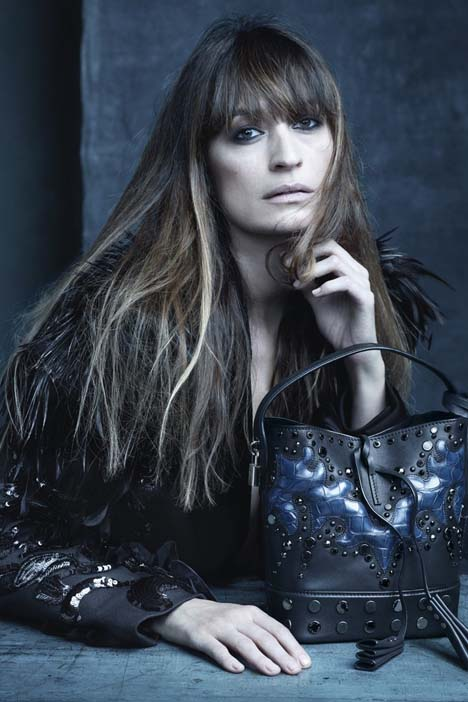 Caroline de Maigret by Steven Meisel for Louis Vuitton