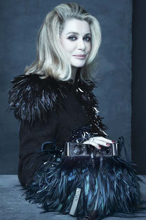 Catherine Deneuve by Steven Meisel for Louis Vuitton