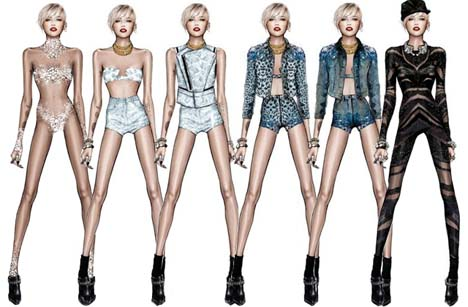 miley-cyrus-in-roberto-cavalli-sketches