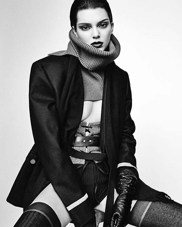 Kendall Jenner by luigi and iango