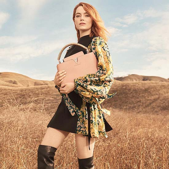 Emma Stone for Louis Vuitton