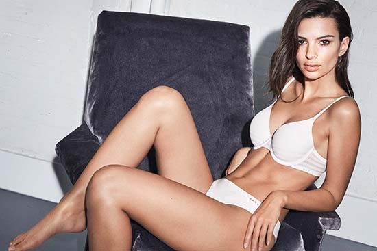 Emily Ratajkowski DKNY Intimates fall-winter 2018 campaign