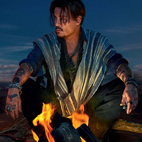 Johnny Depp Sauvage Parfum
