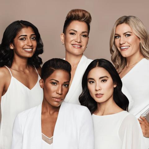 Estee Lauder Shades of Canada campaign