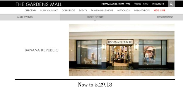 Banana Republic Memorial Day Sale and Celebration