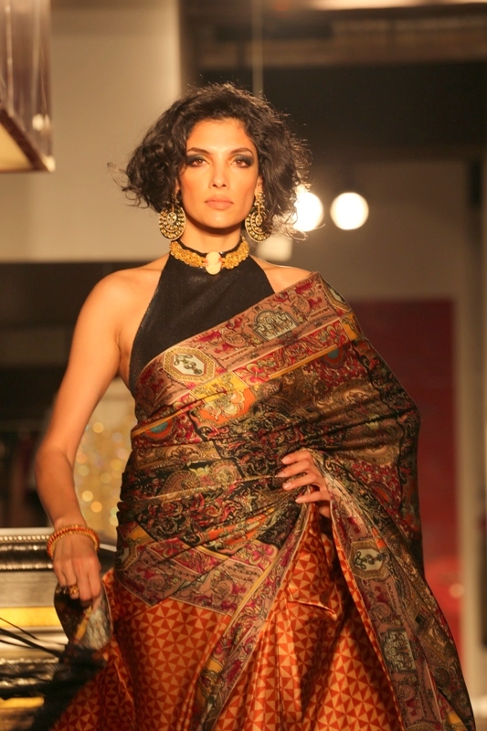 Model Indrani Das in Shehla chatoor collection