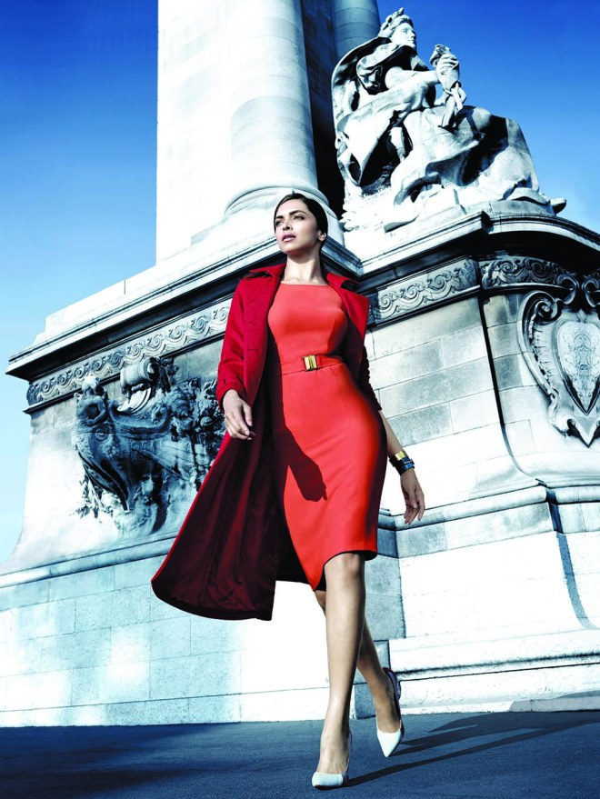 Deepika Padukone for Van Heusen Limited Edition