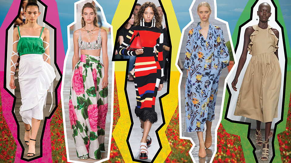 The Top 10 Trends from New York Fashion Week Spring 2017