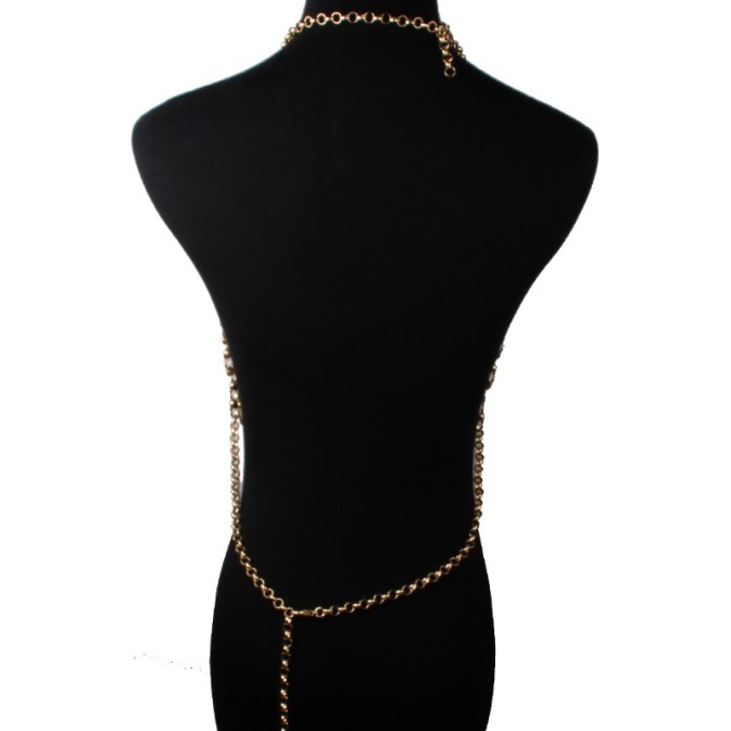 Lagertha Chain Mail Halter Top