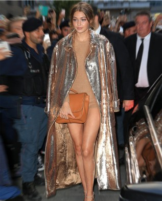 Max Loves Mara Gold Sequin Coat Apparel