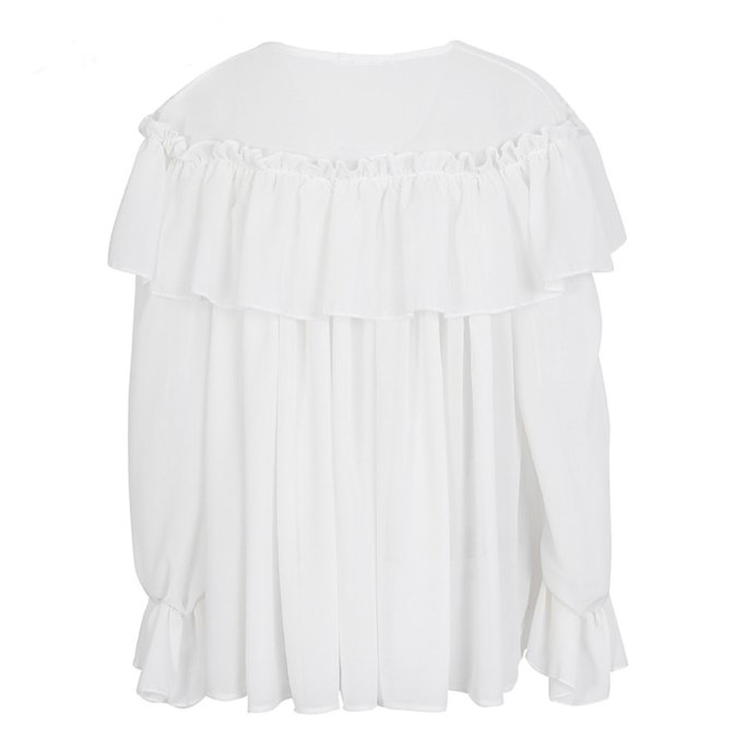 Fit For A Queen Ruffled Shirt Apparel