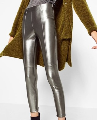 Are You Fur-Real Faux Leather Pants Apparel
