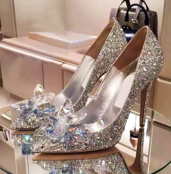 Princess Extraordinary Evening Shoe Collections Bling