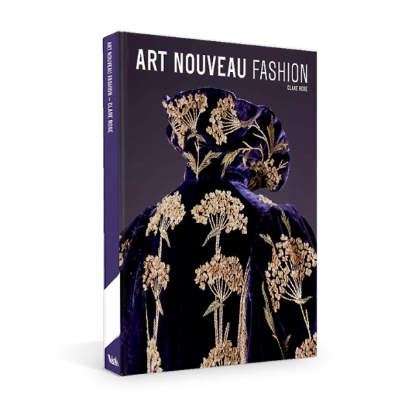 Book cover of Art Nouveau Fashion by Clare Rose