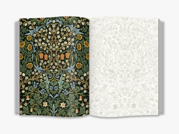 William Morris (Victoria and Albert Museum) An Arts & Crafts Colouring Book
