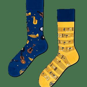 Music Notes Socks