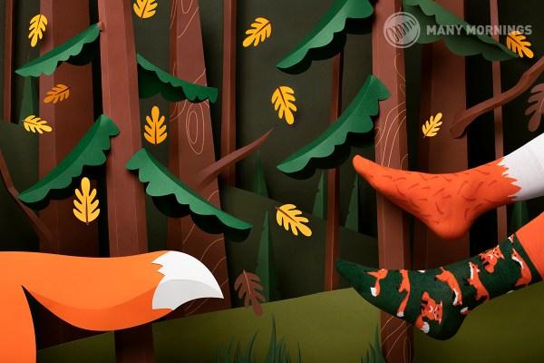 The Red Fox Socks