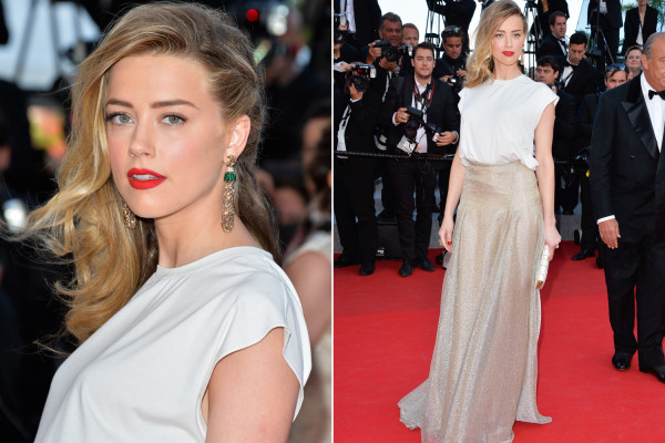 7 Best and worst dressed stars at Cannes Film Festival 2014 - amberheard-cannes
