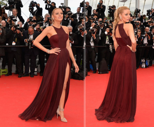 7 Best and worst dressed stars at Cannes Film Festival 2014 - Blake-lively-gucci-dress-2014-cannes-red-carpet