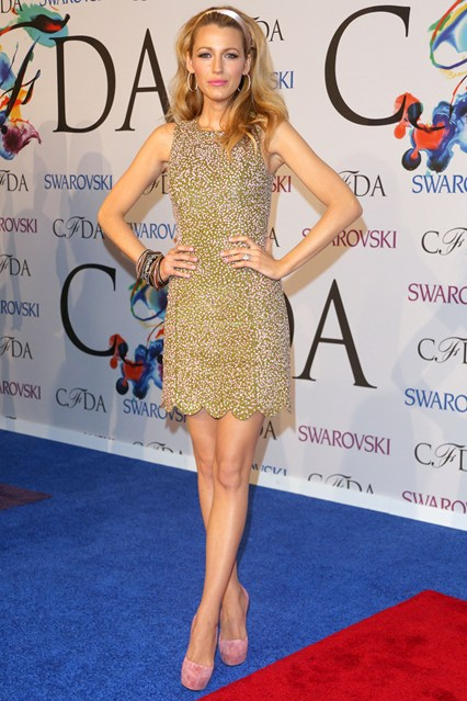 CFDA Awards Winners Blake-Lively