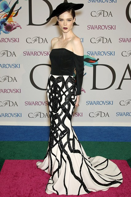 CFDA Awards Winners Coco Rocha