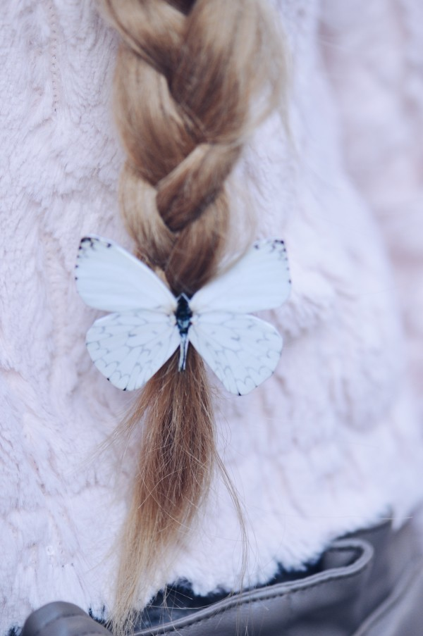 Chase the butterfly