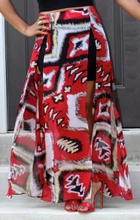 Tribal Girl Maxi Skirt