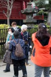 Bad photo of a Cos-player in Ueno Park