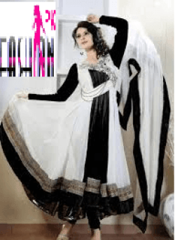 13 Black & White Kurta Shalwar Latest Design 2015 Black & White Kurta Shalwar Latest Design 2015 13