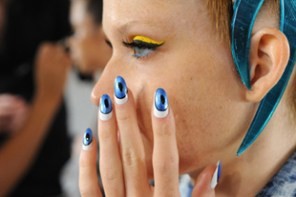 CND For The Blonds: New York Fashion Week Spring/Summer 2014 - Backstage