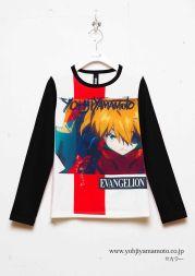 GroundY_Evangelion_anime_designer_yamamoto_collaboration_shirt_blk
