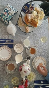 Champagne tea at Jameson's Tea Rooms is a must