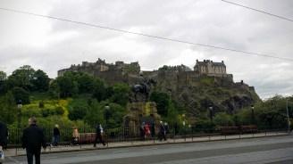 Edinburgh Castle!